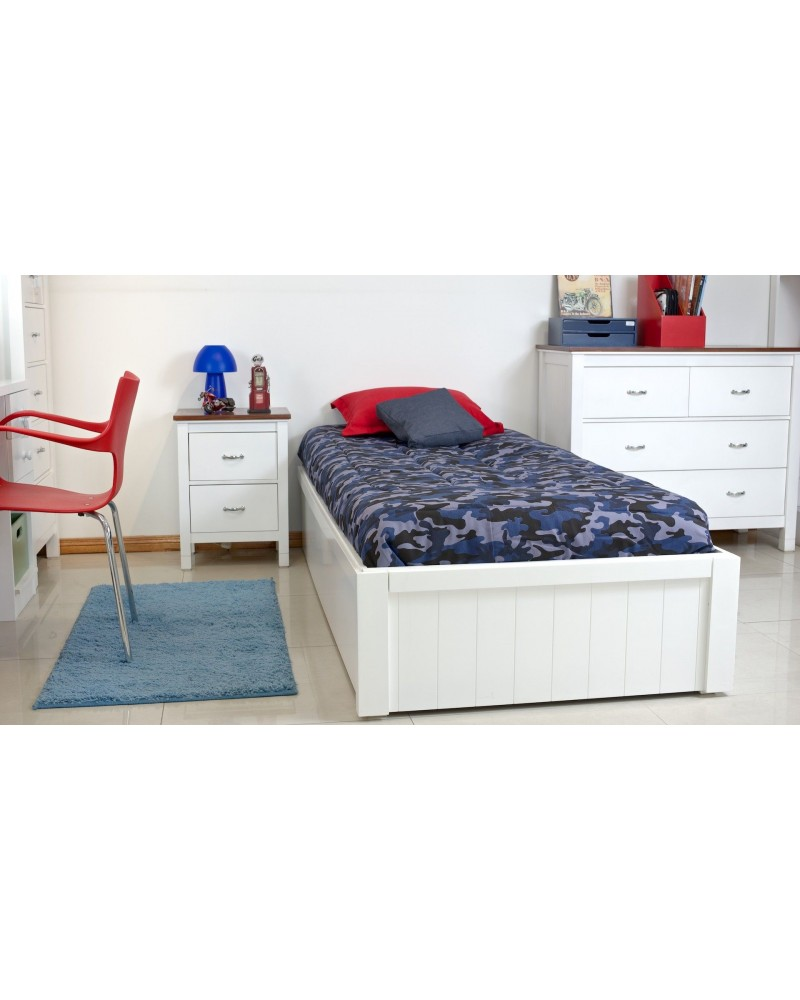 Cama box plaza y media cordonn for Futon cama plaza y media
